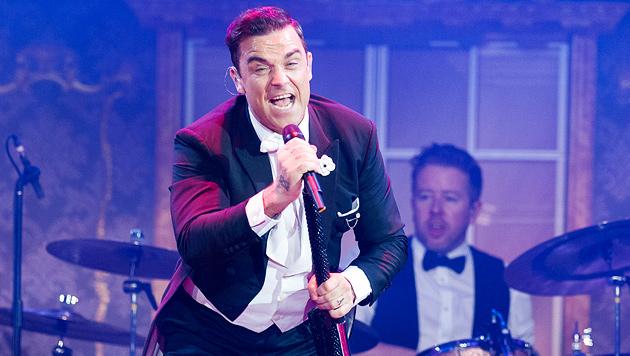 Swing-Star Robbie verriet Wien ein süßes Geheimnis (Bild: Andreas Graf)