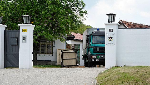 Die Außenstelle Oberfucha der Justizanstalt Stein in Niederösterreich (Bild: Paul Plutsch)