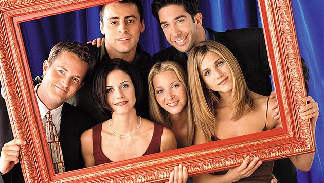 """Kultserie """"Friends"""" endete vor zehn Jahren (Bild: AP)"""