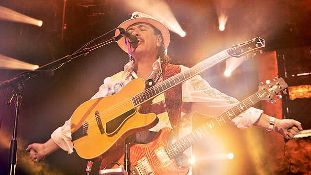 """Santana: """"Hippies sind stärker als Panzer"""" (Bild: Sony Music)"""