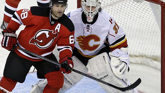 Jagr geht mit New Jersey in seine 21. NHL-Saison (Bild: AP)
