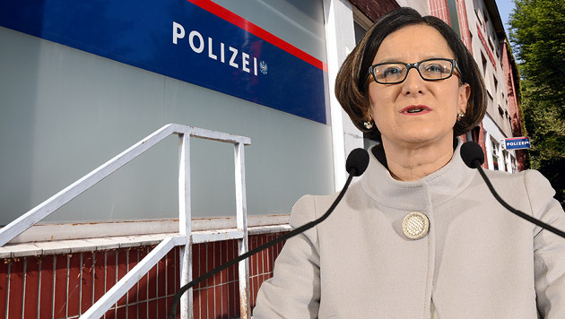 """Mikl-Leitner: """"Guter Tag für die Sicherheit"""" (Bild: Martin Jöchl, APA/HELMUT FOHRINGER, krone.at-Grafik)"""