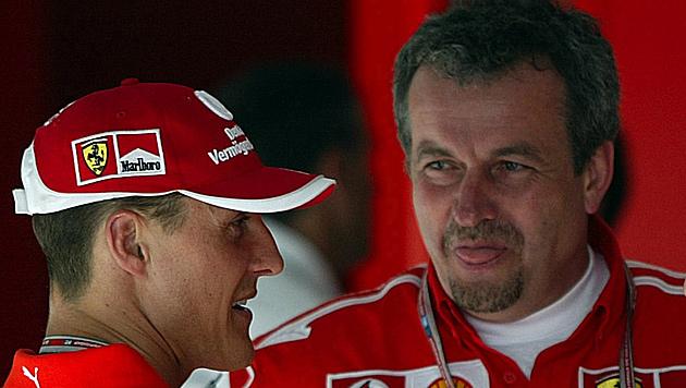 Schumis Ex-Chefmechaniker Stepney verunglückt (Bild: GEPA)