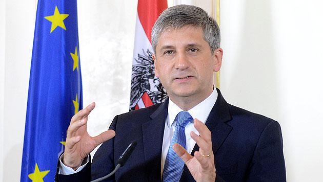 """Finanzsteuer: """"Erfolg ist jetzt zum Greifen nahe"""" (Bild: APA/Helmut Fohringer)"""