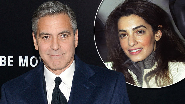 "George Clooney bestätigt: ""Ja, es stimmt!"" (Bild: Evan Agostini/Invision/AP, AP, krone.at-Grafik)"