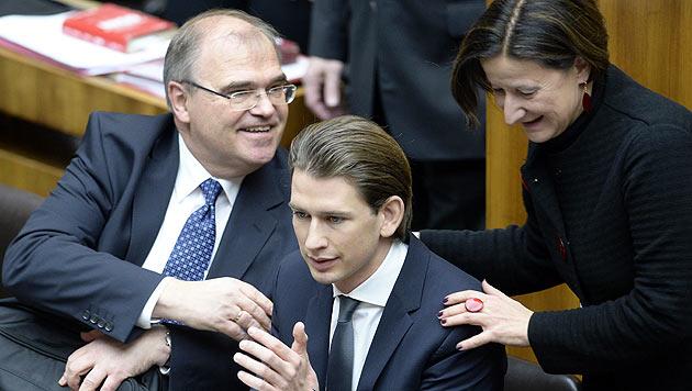 Vorstoß von Justizminister Brandstetter, Außenminister Kurz und Innenministerin Mikl-Leitner (Bild: APA/ROBERT JAEGER)