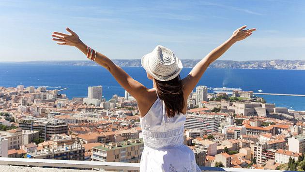Warum es angenehm sein kann, allein zu reisen (Bild: thinkstockphotos.de)