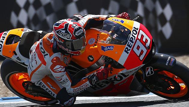 Marquez auch auf dem Sachsenring unschlagbar (Bild: AP)