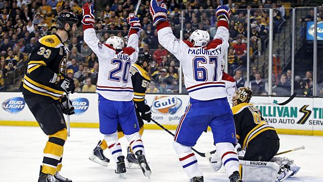 Montreal verliert trotz Vanek-Doppelpack 3:5 (Bild: AP)