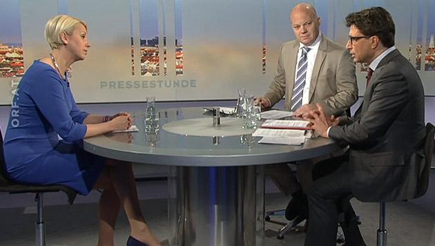 "NEOS wollen ""Europa-Armee"" statt Bundesheer (Bild: tvthek.orf.at)"