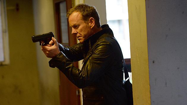 """""""24"""": Kiefer Sutherland ist als Jack Bauer zurück (Bild: Charles Sykes/Invision/AP, AP)"""
