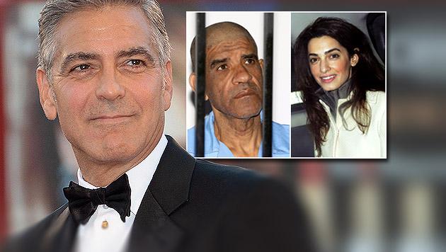 Clooneys Verlobte verteidigt Gadafi-Schergen (Bild: AP, EPA, AFP)