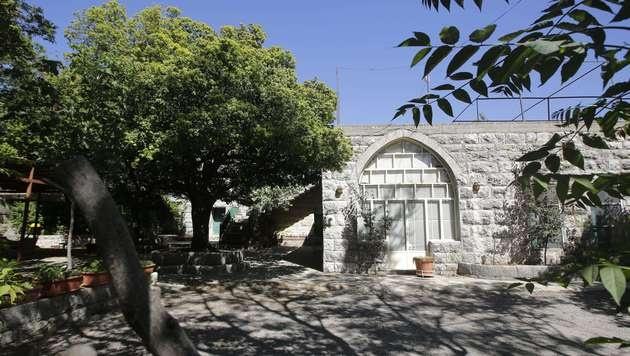 Das Elternhaus von Amal Alamuddin im Libanon. (Bild: AFP)