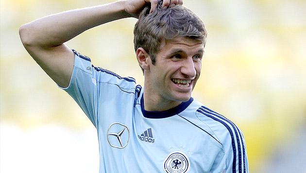 """Müller: """"Goldener Schuh war ein positiver Schock"""" (Bild: APA/GEORG HOCHMUTH)"""