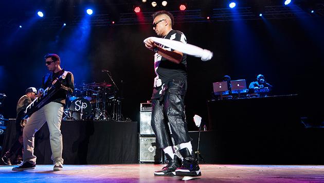 Sean Paul mit feurigen Rhythmen und fader Show (Bild: Andreas Graf)