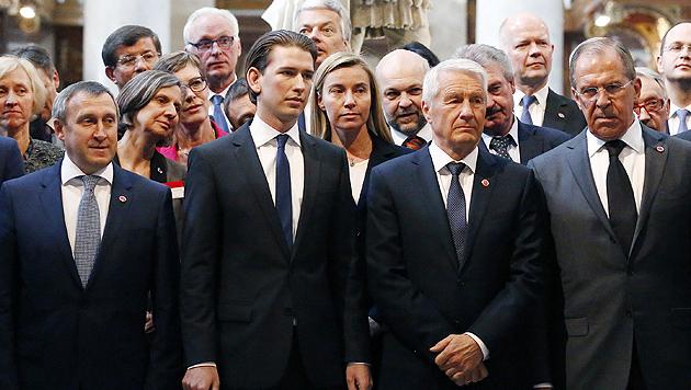 Krisenhektik von Wien über Moskau nach Genf (Bild: APA/DRAGAN TATIC)