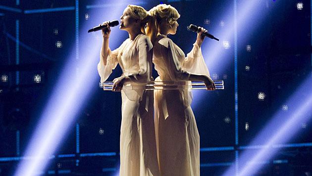 Die Tolmatschowa-Zwillinge aus Russland sind ein eingespieltes Team. (Bild: APA/EPA/BAX LINDHARDT)