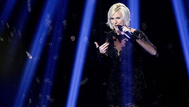 """Sanna Nielsen ist Schwedens Kandidatin. Sie zählt mit ihrem Lied """"Undo"""" zu den Favoriten. (Bild: APA/EPA/BAX LINDHARDT)"""