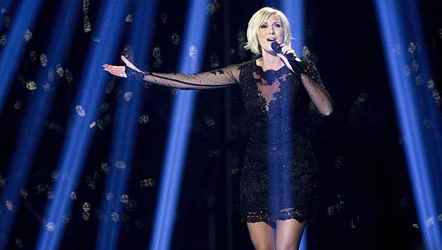 Die hübsche Schwedin Sanna Nielsen will den Song Contest erneut nach Skandinavien holen. (Bild: APA/EPA/BAX LINDHARDT)