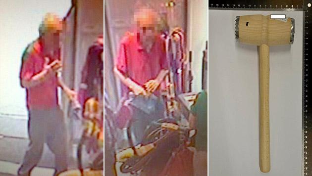 Fleischklopfer-Attacken: 89-Jähriger eingewiesen (Bild: Polizei)