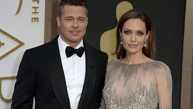 Jolie bekräftigt Hochzeitspläne mit Pitt (Bild: APA/EPA/MIKE NELSON)