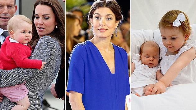 Kate, Charlotte, Madeleine: Unser erster Muttertag (Bild: EPA, AP, kungahuset.se/H.K.H. Kronprinsessan Victoria)