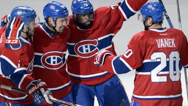 Scorerpunkt für Vanek bei 4:2-Sieg von Montreal (Bild: AP)