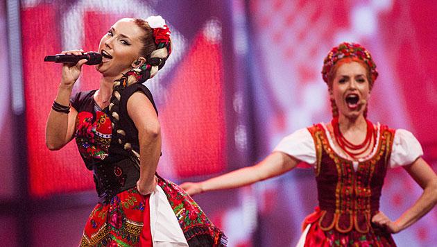 "Donatan & Cleo heißt Polens Beitrag zum Song Contest. Sie singen ""My Slowianie (We are Slavic)"". (Bild: APA/EPA/NIKOLAI LINARES)"