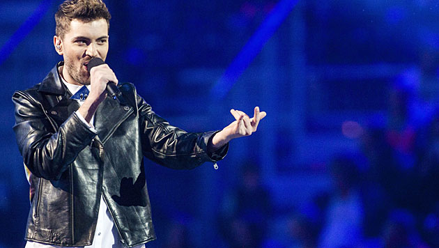 """Freaky Fortune feat. Risky Kidd hoffen mit """"Rise Up"""" auf viele Punkte für Griechenland. (Bild: APA/EPA/NIKOLAI LINARES)"""