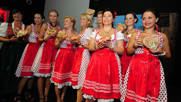 Die Miss Wiener Wiesn-Fest Wahl 2012 (Bild: Purtscher Relations, Wiener Wiesn-Fest)