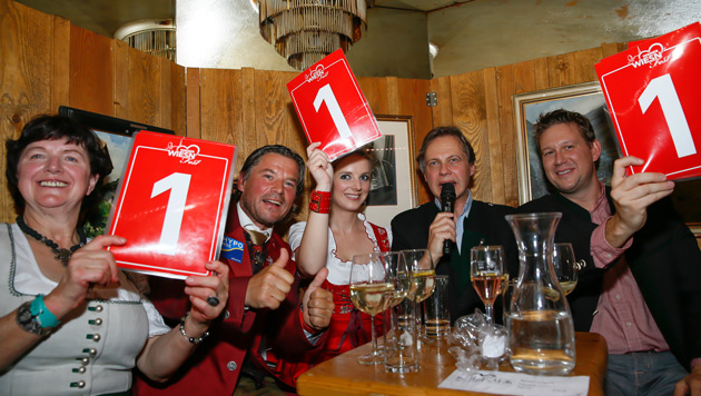 Die Jury (Bild: Roland Rudolph, Wiener Wiesn-Fest)