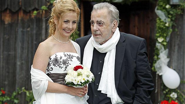 Maximilian und Iva Schell bei der Hochzeit (Bild: Reinhard Holl)