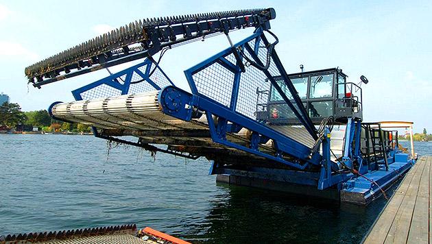 Stadt Wien bekam 36.000 Euro für Millionen-Mähboot (Bild: MA 45)