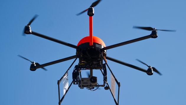 Drohnen sollen Strände in Jesolo überwachen (Bild: dpa-Zentralbild/Patrick Pleul)