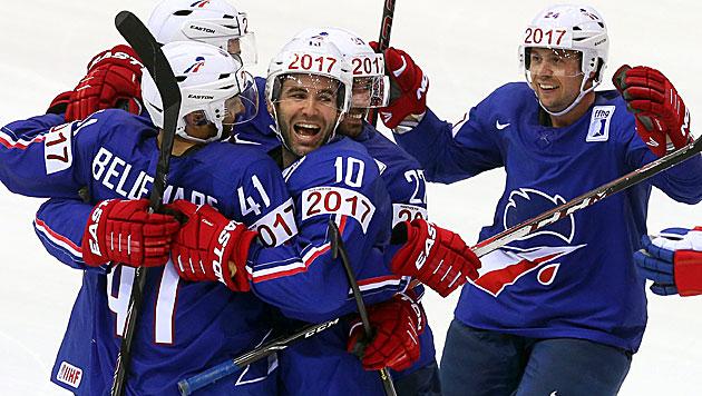 Frankreich bezwingt Olympiasieger Kanada (Bild: APA/EPA/TATYANA ZENKOVICH)