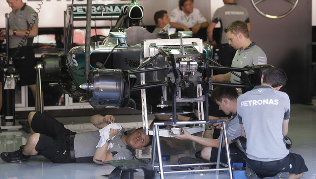 """Mercedes testet """"Megafon"""" für besseren Sound (Bild: AP)"""