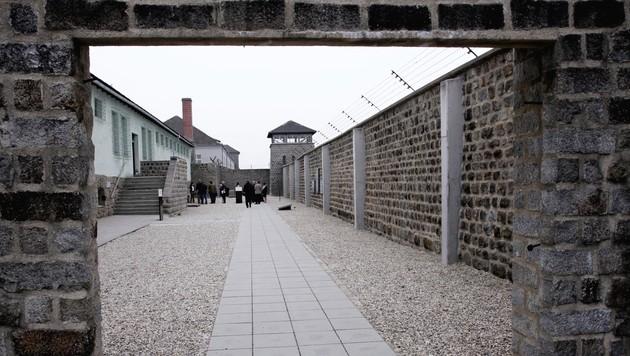 Schmieraktion in Mauthausen: Belohnung ausgelobt (Bild: APA/RUBRA)