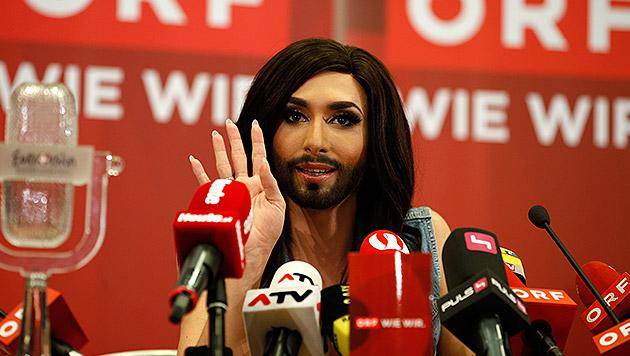 """Conchita: """"Habe so etwas noch nie gespürt"""" (Bild: Reinhard Holl)"""