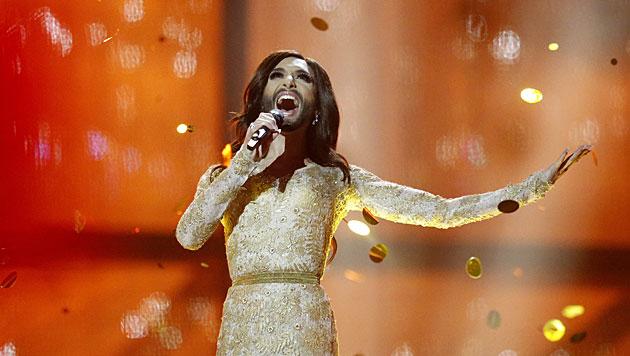 Es ist amtlich: Conchita Wurst ist der neue Udo Jürgens! (Bild: AP)