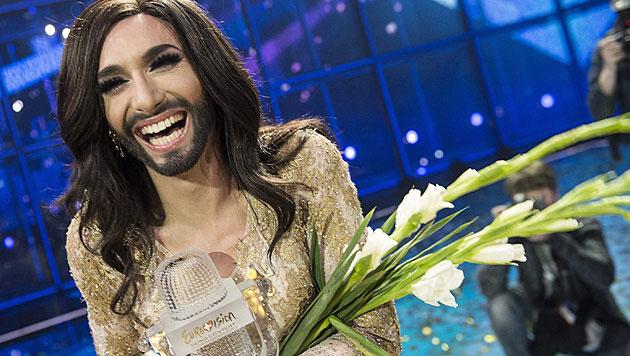 Der Mensch hinter Bart, Perücke und Mascara (Bild: APA/EPA/FLINDT MOGENS)