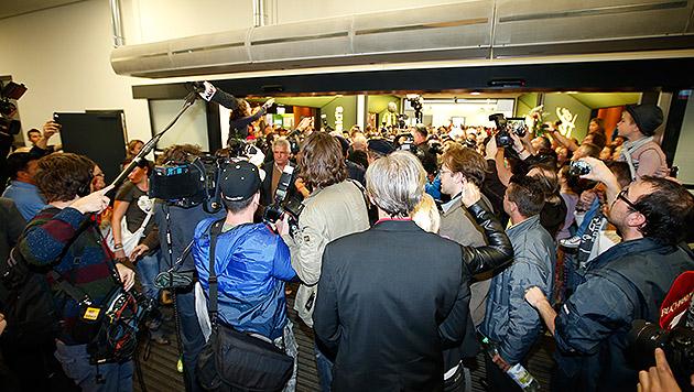 Riesen-Empfang für Siegerin Conchita Wurst (Bild: Reinhard Holl)