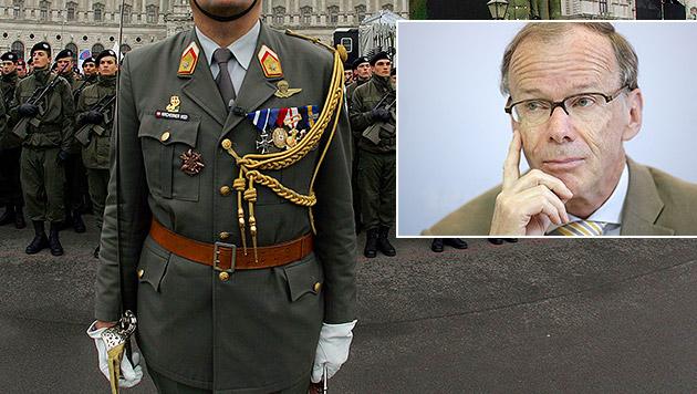 Auch Heeres-Offiziere auf Geheimdienst-Liste (Bild: APA/Bundesheer/Dragan Tatic, APA/Georg Hochmuth)