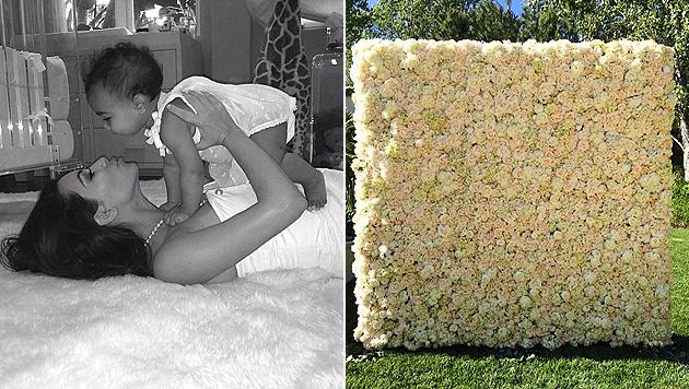 Kim Kardashian zeigt zum Muttertag ihre süße North (Bild: Instagram.com)