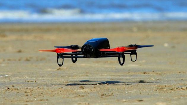 Neue Parrot-Drohne wird per Cyberbrille gesteuert (Bild: Parrot)