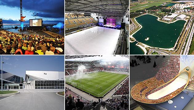 Schlacht um größtes Musikevent der Welt eröffnet (Bild: APA, Birbaumer, AKKAKK,  Leutgeb, Steindy, Stadt Wien, Pail)
