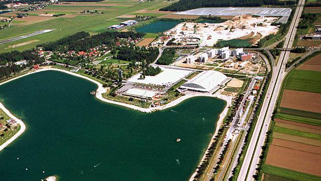 Schwarzlhalle bei Graz (Fassungsvermögen 20.000; Dach: ja) (Bild: Leutgeb Entertainment Group)