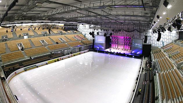 Olympia World Innsbruck (Fassungsvermögen 11.000; Dach: ja) (Bild: Christof Birbaumer)