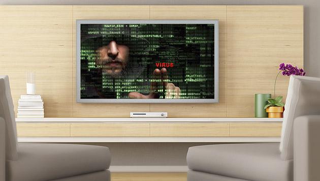 """Smart-TV ist auch zu """"hacken"""" (Bild: thinkstockphotos.de)"""