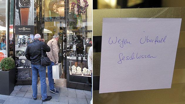 Trickdiebe stahlen bei Juwelier 50.000-Euro-Ring (Bild: Andi Schiel)