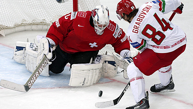Weiter souverän: Russland fertigt USA mit 6:1 ab (Bild: APA/EPA/ANATOLY MALTSEV)